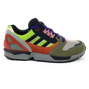 Adidas Originals ZX 8000 Solar Slime Retro Shoes